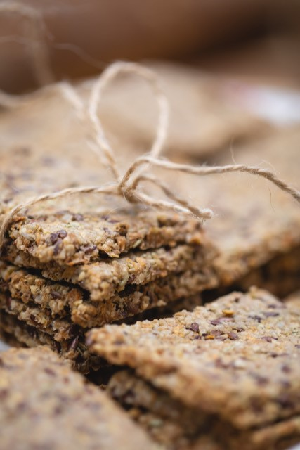 Cours crackers sans gluten